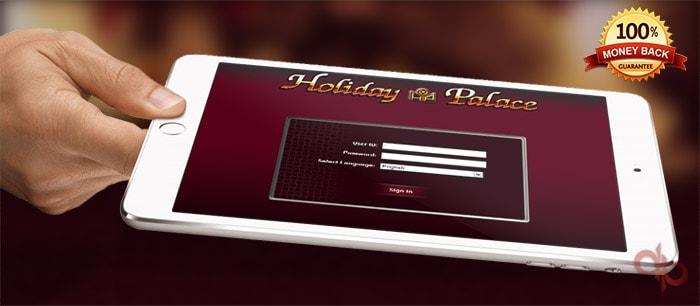 Holiday Palace Casino on device